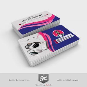 طراحی کارت ویزیت فروشگاه لوازم جانبی موبایل مستر جابکو